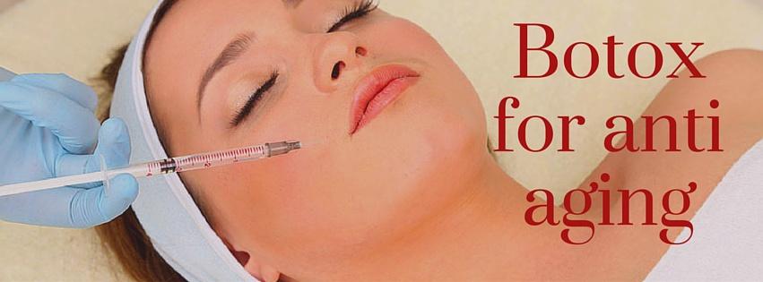 Botox for anti aging