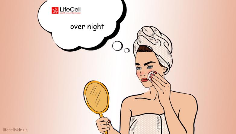Remove acne overnight